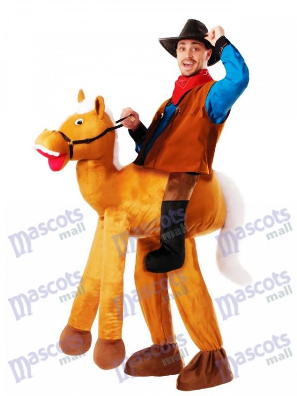 Piggyback Pony Pferd Carry Me Ride Pferd Maskottchen Kostüm