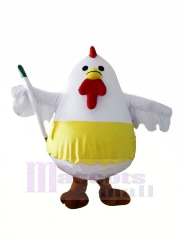 Weiß Fett Hähnchen Maskottchen Kostüme Tier