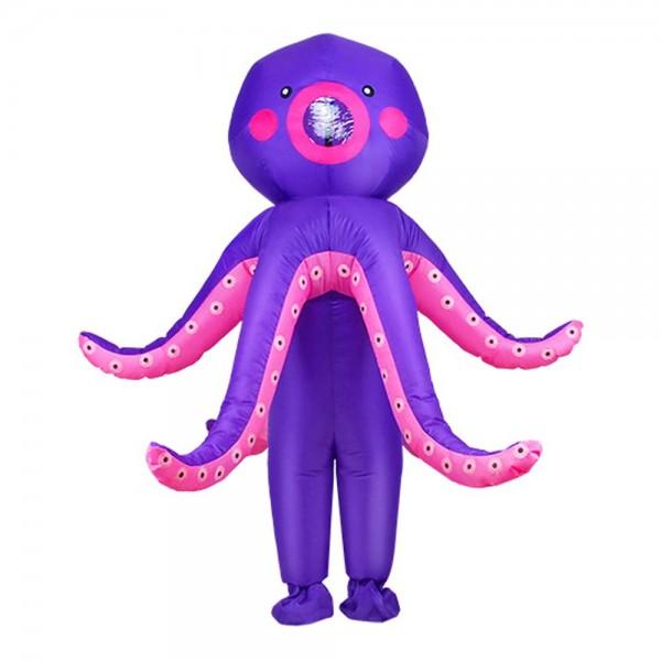 Tintenfisch Aufblasbar Kostüm Halloween Weihnachten Kostüm zum Erwachsener/Kind