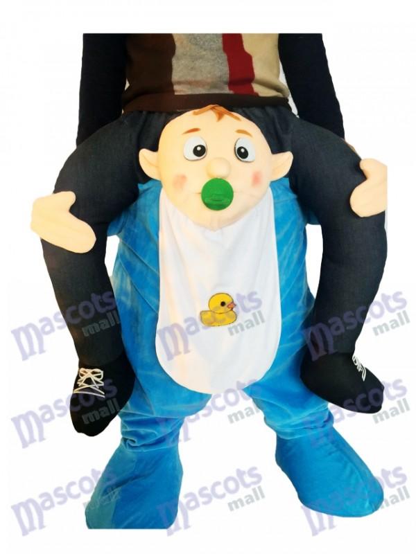 Huckepack Baby Carry Me Ride auf Infant Maskottchen Kostüm