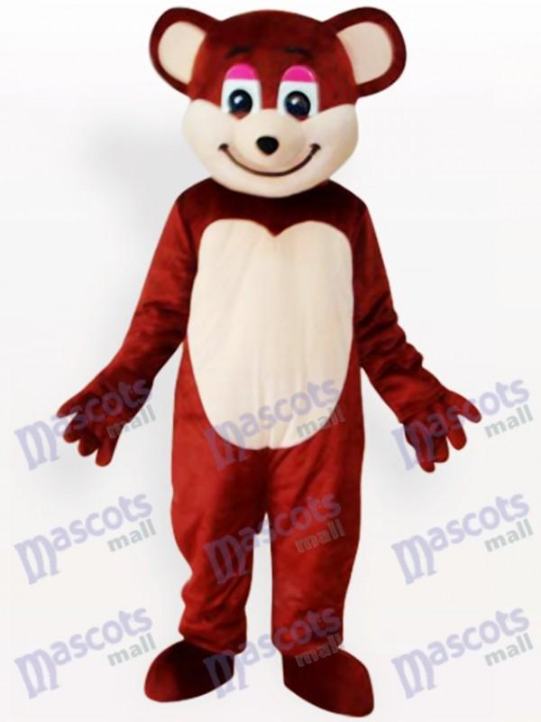 Braunbär Tier Maskottchen Lustiges Kostüm