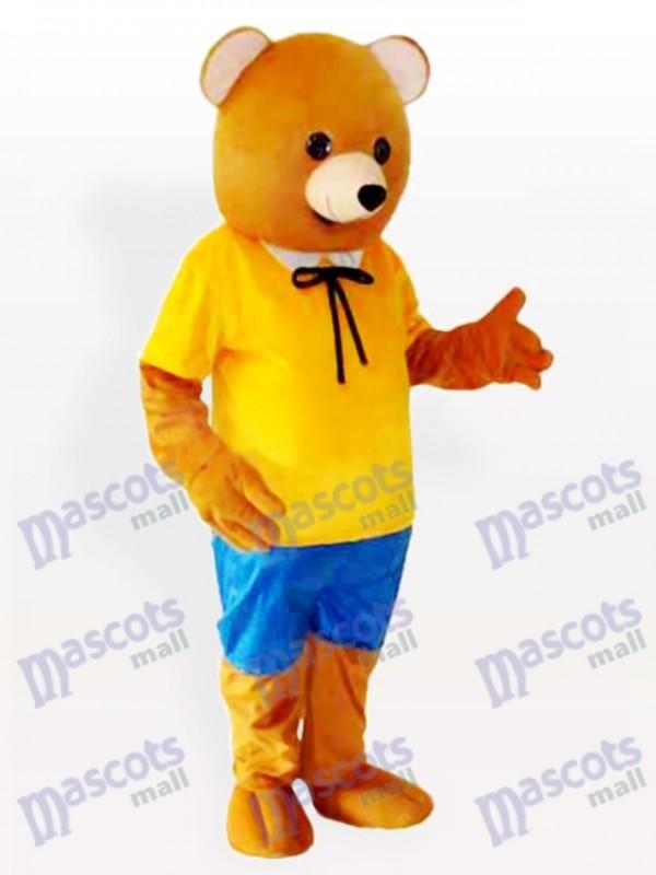 Teddybär Anime Maskottchen Kostüm