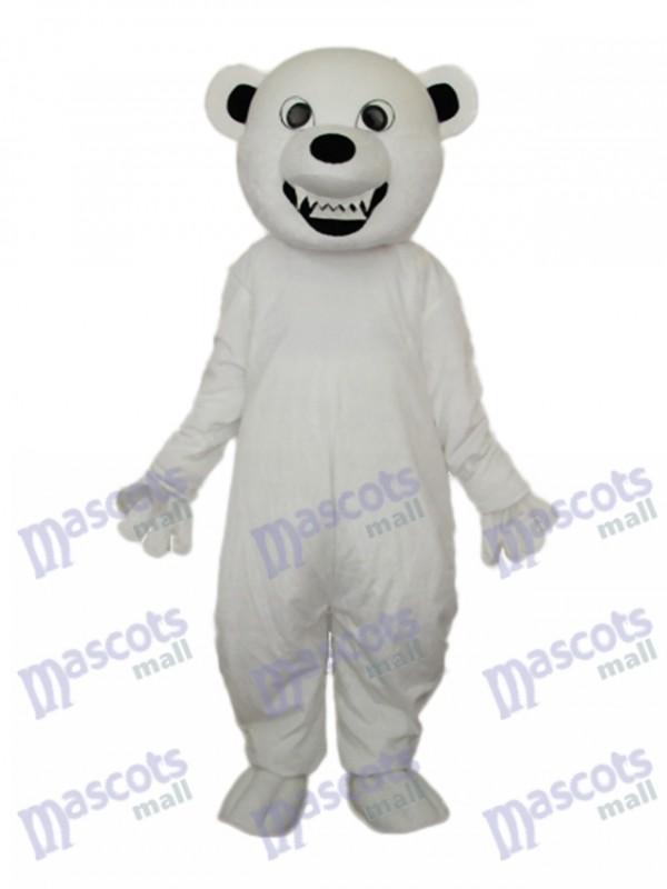 Eis bär Maskottchen Kostüm Tier