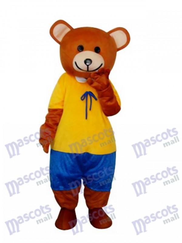 Band Teddybär Maskottchen Erwachsene Kostüm Tier
