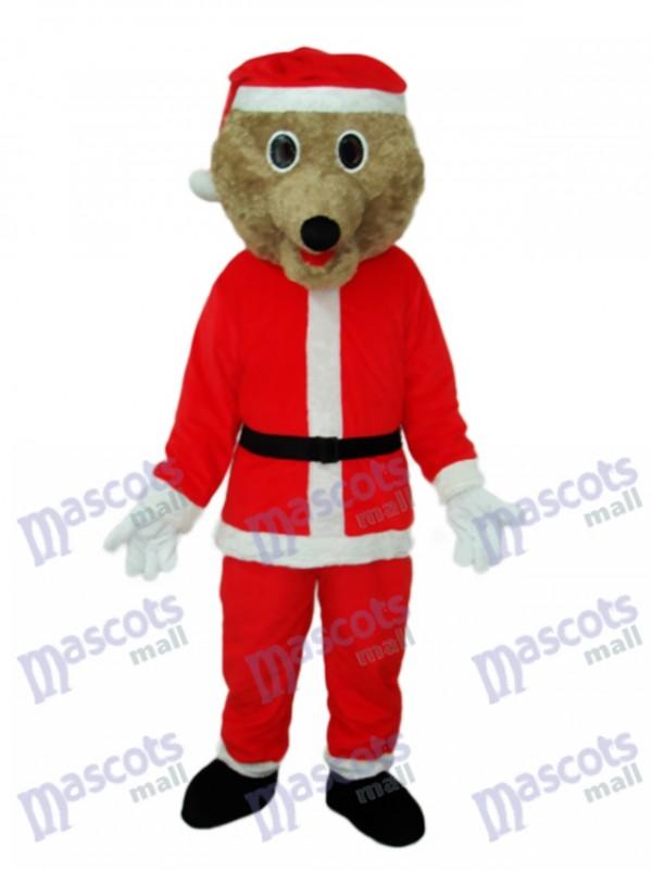 Weihnachtsbär Maskottchen Erwachsene Kostüm Tier