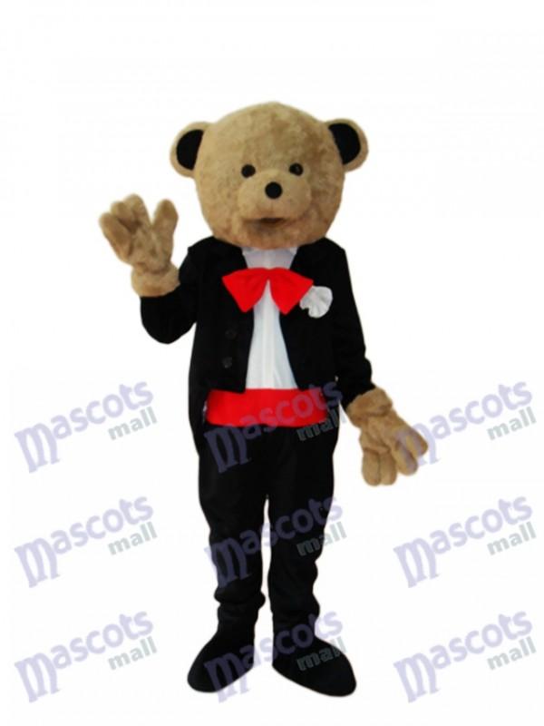 Hochzeits Bären Maskottchen erwachsenes Kostüm Tier