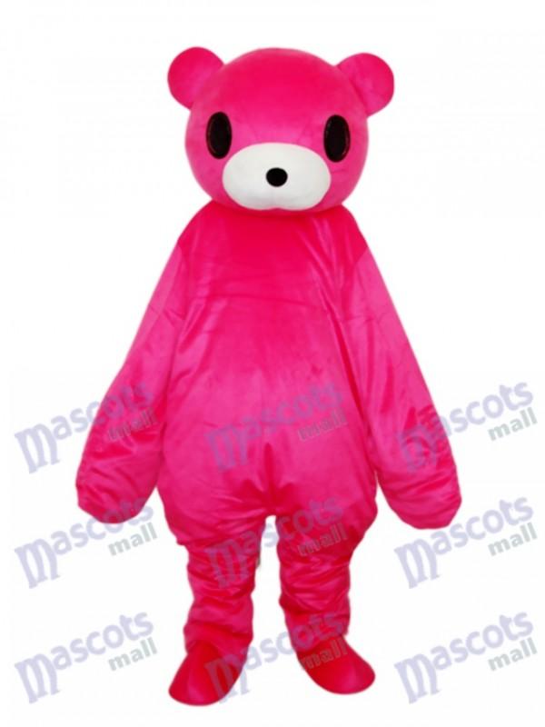 Roter Bär Maskottchen Erwachsene Kostüm Tier