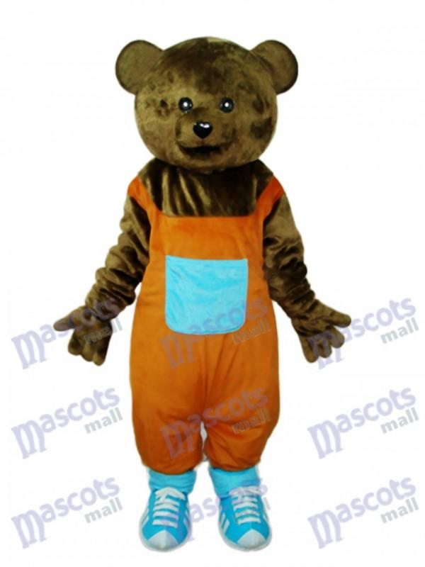 Teddy bär Maskottchen Kostüm für Erwachsene