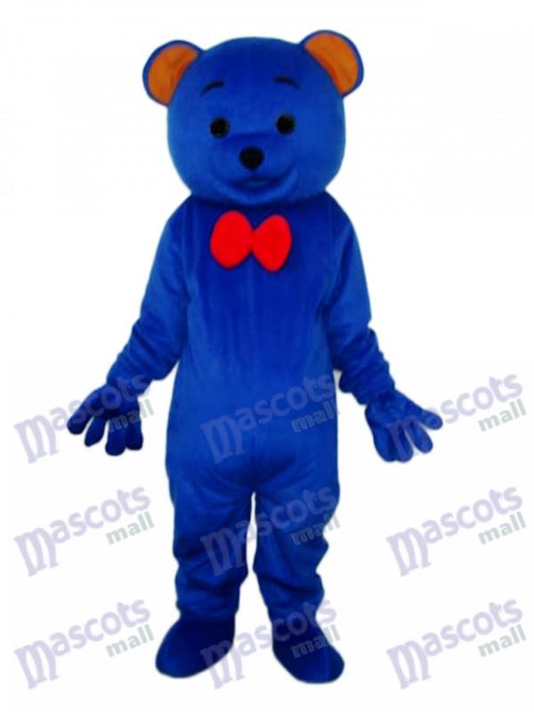 Blaues Teddybär Maskottchen erwachsenes Kostüm Tier