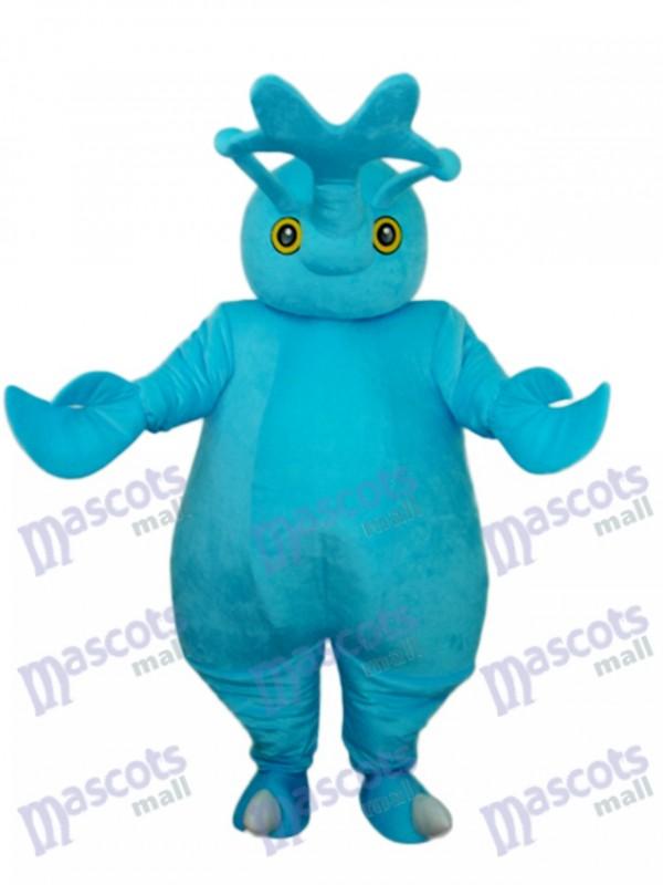 Blaues Käfer Maskottchen erwachsenes Kostüm Insekt