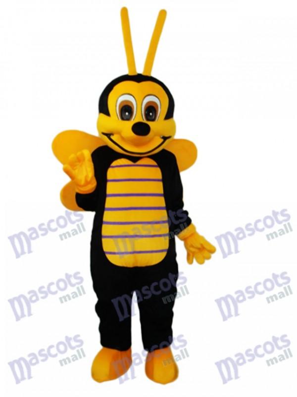 Bienen-Maskottchen Kostüm für Erwachsene Insekt