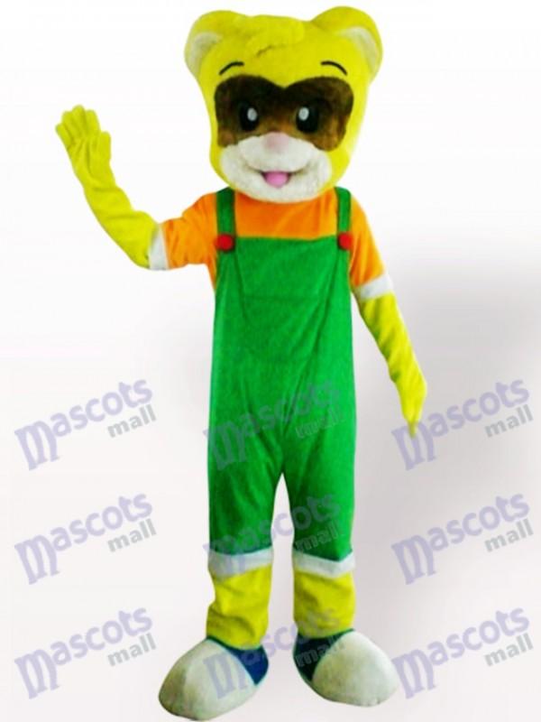 Männliche Katze Tier Maskottchen Kostüm für Erwachsene