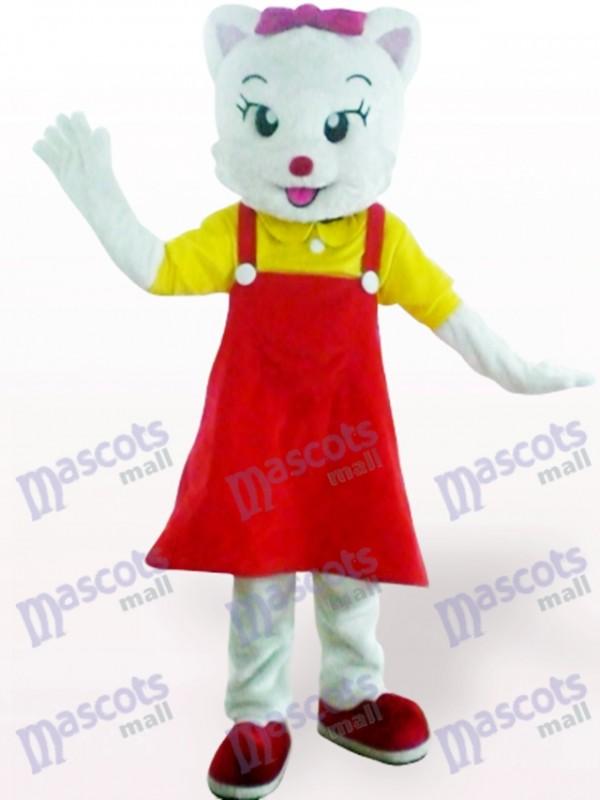 Rote weibliche Katze Tier Maskottchen Kostüm für Erwachsene