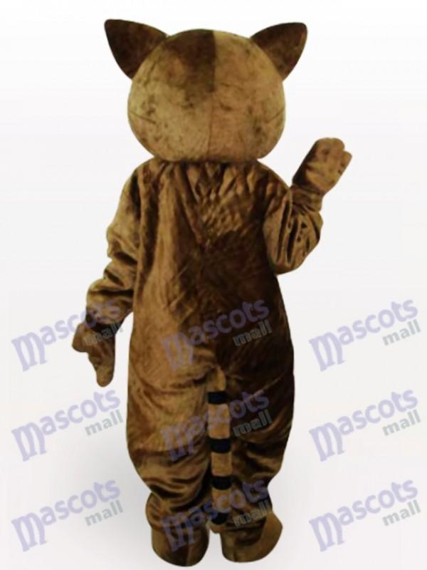 Seltsame Lynx Katze Tier Maskottchen Kostüm für Erwachsene