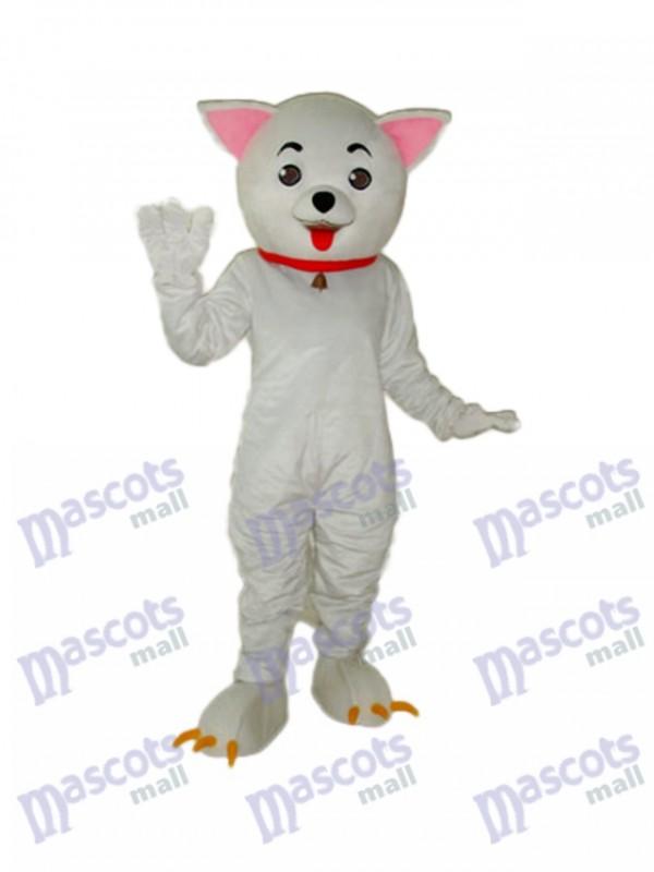 Rosa Ohr Clever Katze Maskottchen Erwachsene Kostüm Tier