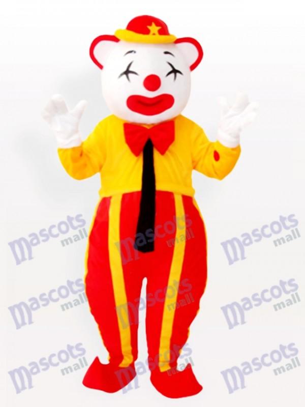 Amerikanisch Clown Maskottchen Kostüm für Erwachsene