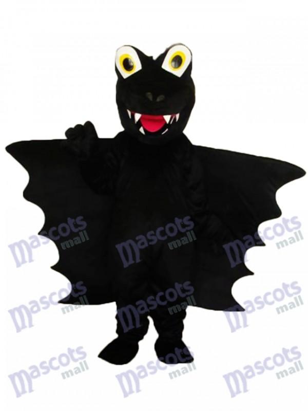 Schwarzes Dorn Dinosaurier-Maskottchen Erwachsenes Kostüm-Tier