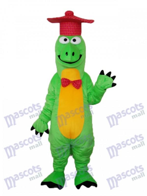 Gentleman Dinosaurier Maskottchen Erwachsene Kostüm Tier