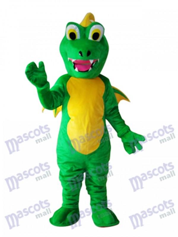 Big Mouth Thorn Green Dinosaurier Maskottchen Adult Kostüm Tier