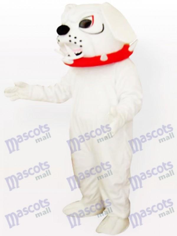Spike Hund mit rotem Kragen Maskottchen Kostüm