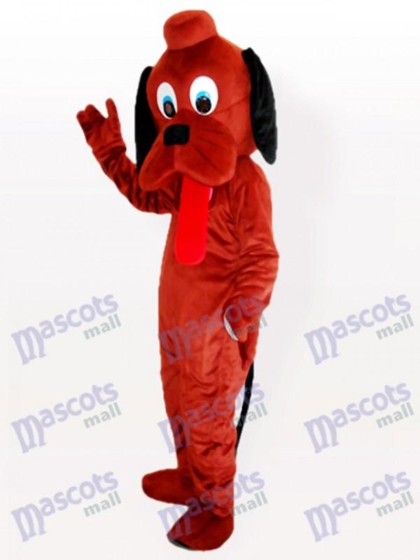 Hey Hund Brown Maskottchen Kostüm