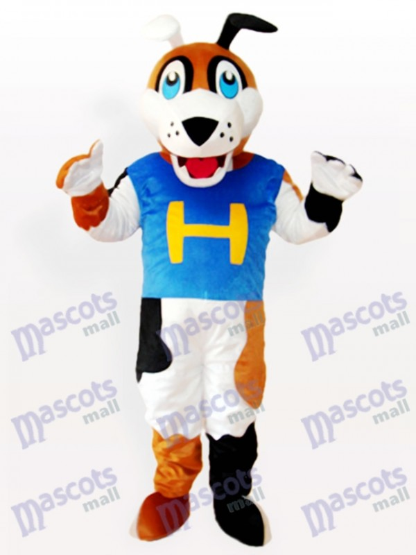 H Hund Adult Maskottchen Kostüm
