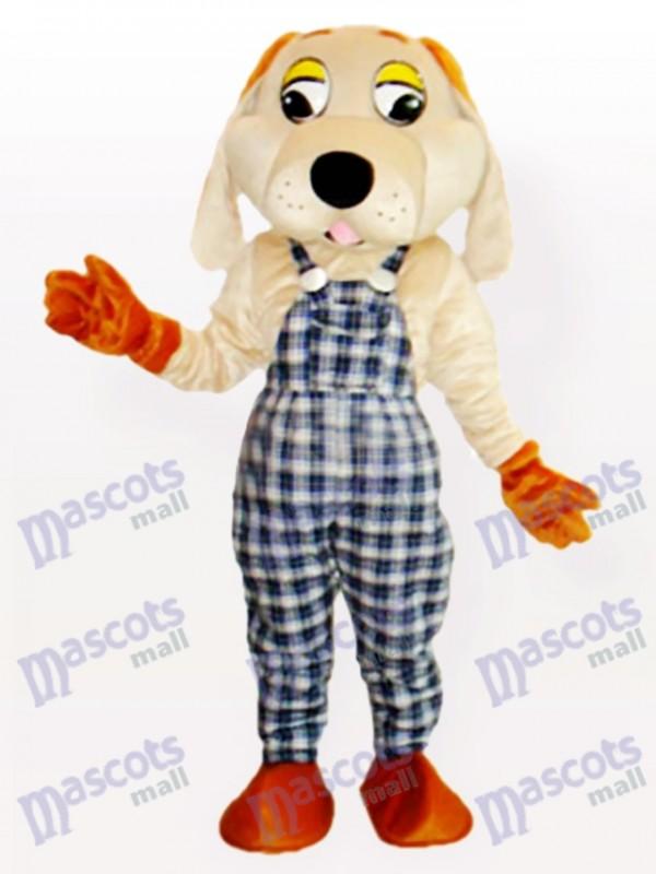 Fortune-Hund Maskottchen Kostüm für Erwachsene