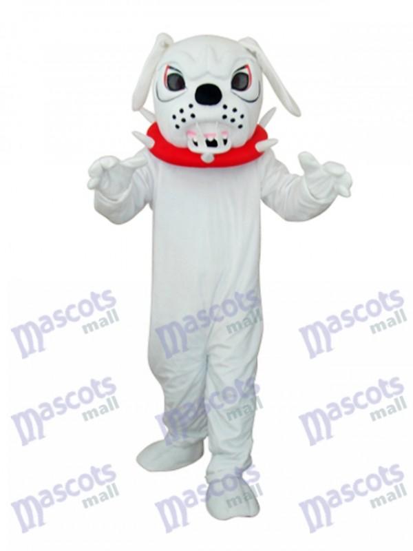 Weiß Angry Gott Erwachsene Maskottchen Kostüm Tier