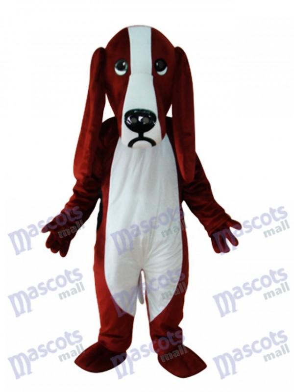 Rötlich und weißer Hund Maskottchen Kostüm Tier