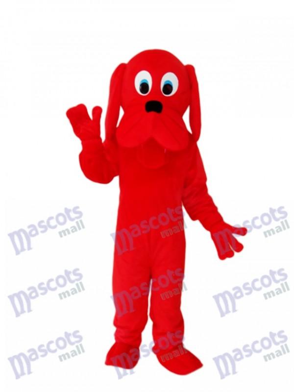 Red Dog Maskottchen Adult Kostüm Tier