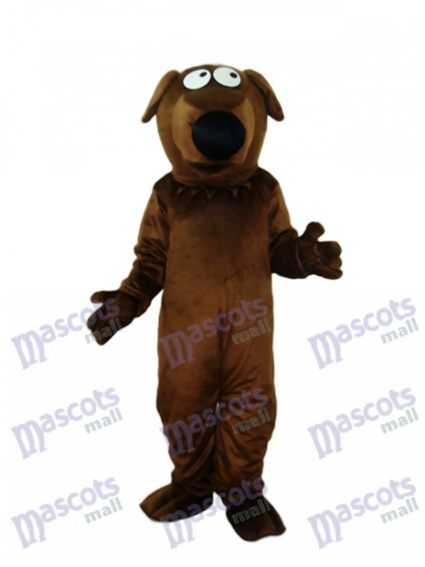 Big Nose Dog Maskottchen Adult Kostüm Tier