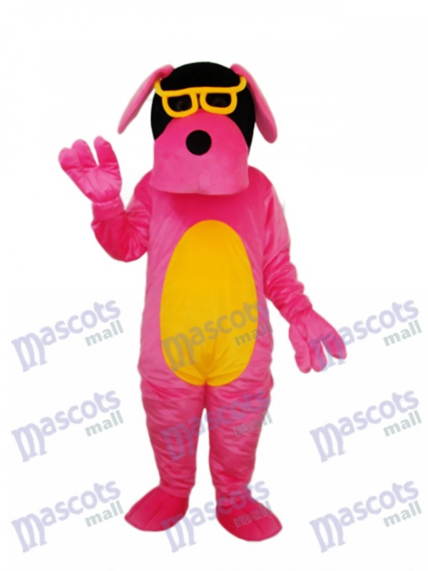 Gläser Hund Maskottchen Erwachsene Kostüm Tier