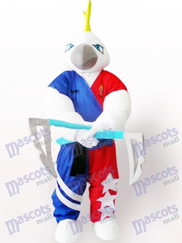 Muskel Adler Maskottchen Kostüm für Erwachsene