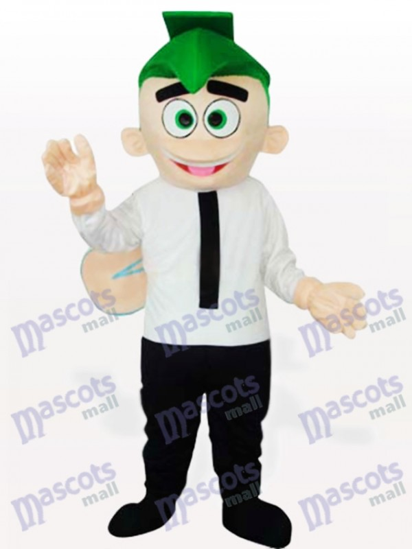 Frosch Buddy Maskottchen Kostüm für Erwachsene