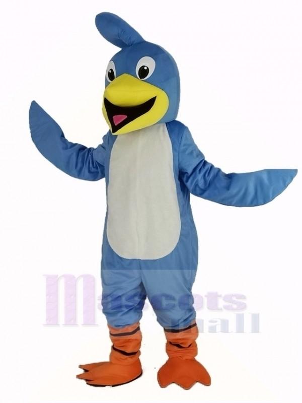 Licht Blau Roadrunner Vogel Maskottchen Kostüm