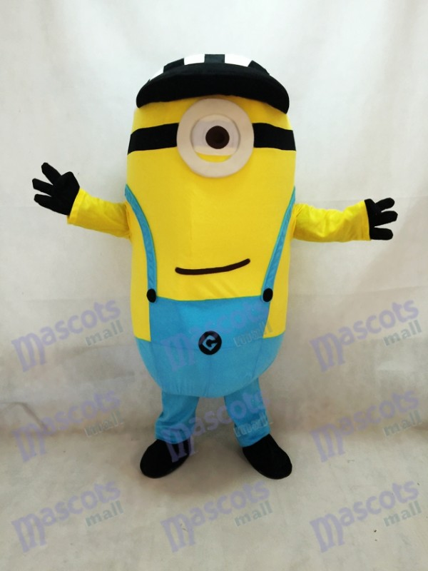Despicable Me Minions Maskottchen Kostüm Custom Anime Cosplay Thema Fancydress Karneval mit Hut