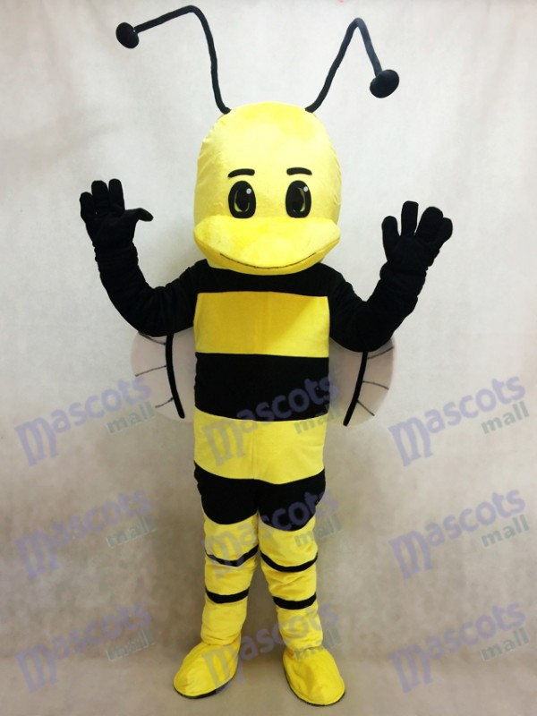Yellow and Black Bee Mascot Costume Insect