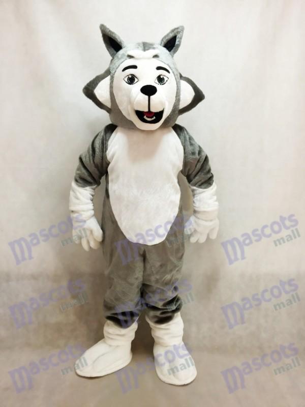 Grau Herman Husky Hund Maskottchen Kostüm