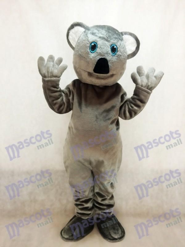 Grey Koala Bear Mascot Costume
