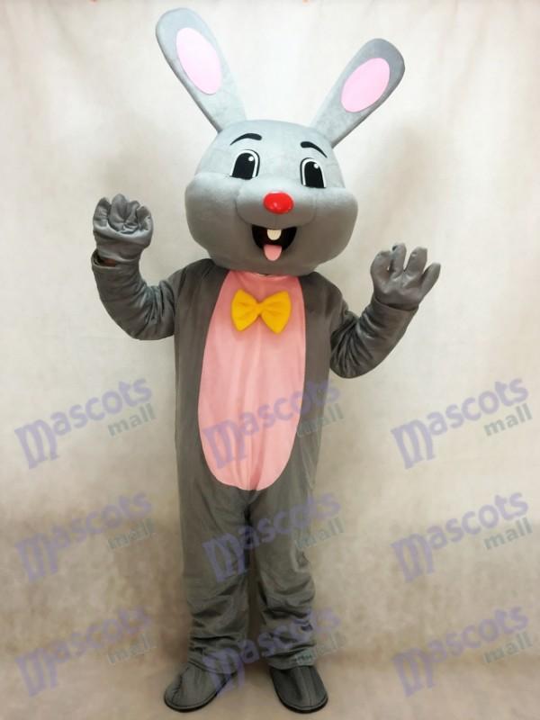 Ostern Grau Häschen Hase Maskottchen Kostüm