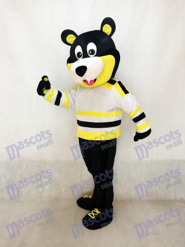 Estevan Bruins Bär Eishockey Maskottchen Kostüm