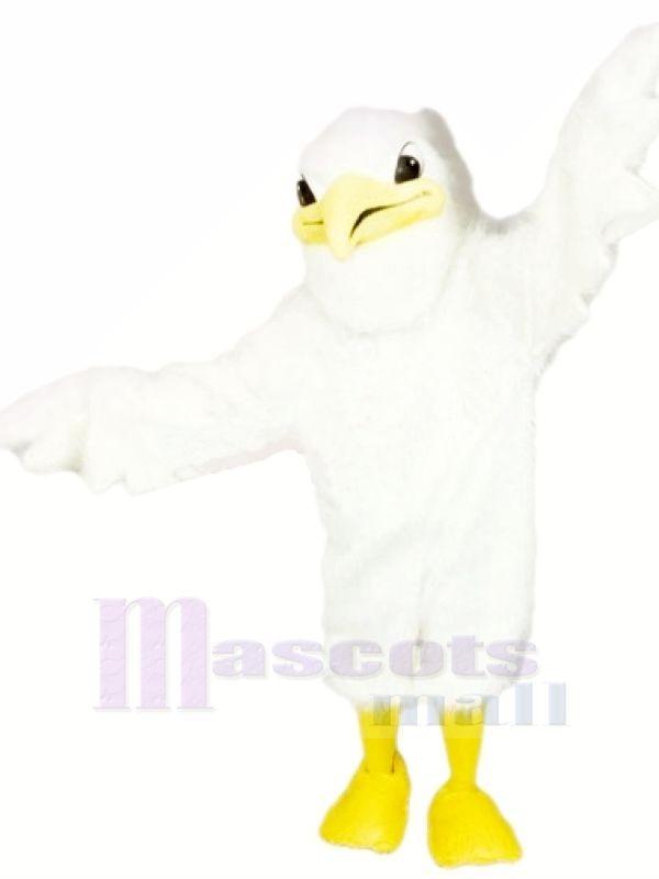 Süß Weiß Storch Maskottchen Kostüme Karikatur