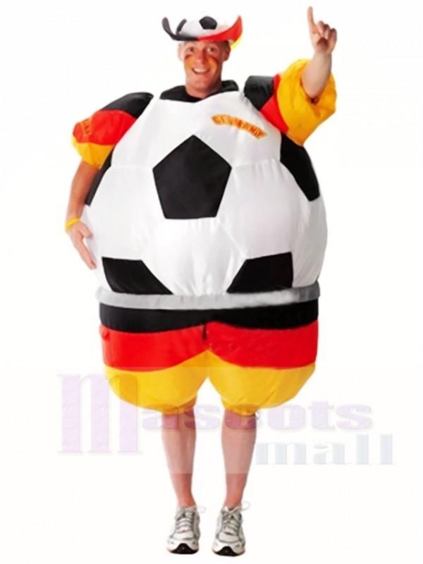 Weltmeisterschaft Deutschland Fussball Fussballer Aufblasbare Halloween Weihnachts Kostume Fur Erwachsene