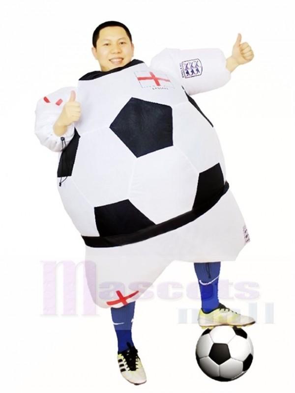 Weltmeisterschaft Aufblasbare Halloween Weihnachts Kostume Englands Fussball Fur Erwachsene
