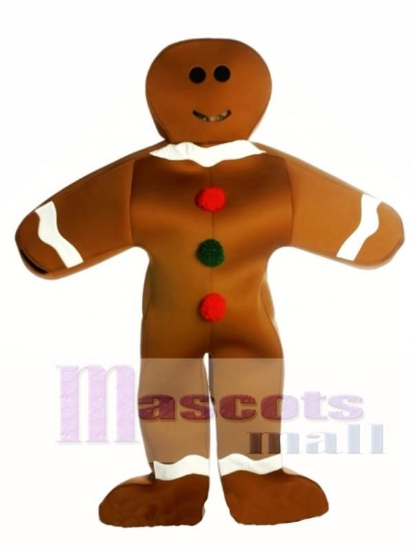 neues Erscheinungsbild exquisites Design feinste Auswahl Lebkuchen Mann Maskottchen Kostüm Weihnachten Xmas