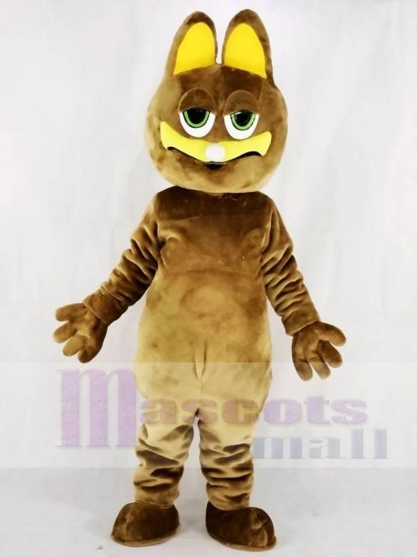 Fett Braun Katze Maskottchen Kostüme Tier