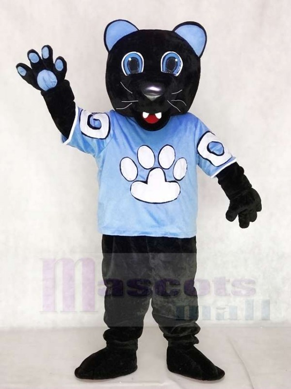 Sir Purr des Carolina Panthers Maskottchen Kostüm von der National Football League