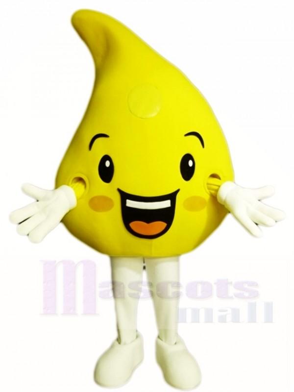 Gelb Zitrone Maskottchen Kostüme Obst