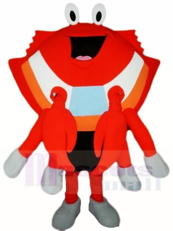 Orange Krabbe