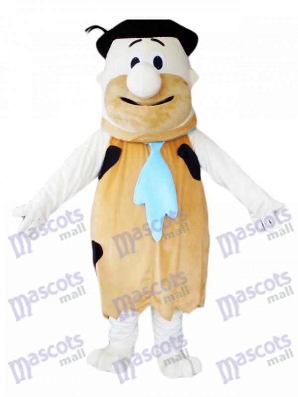 Fred Feuerstein Moderne Steinzeit Brown Savage Maskottchen Kostüm